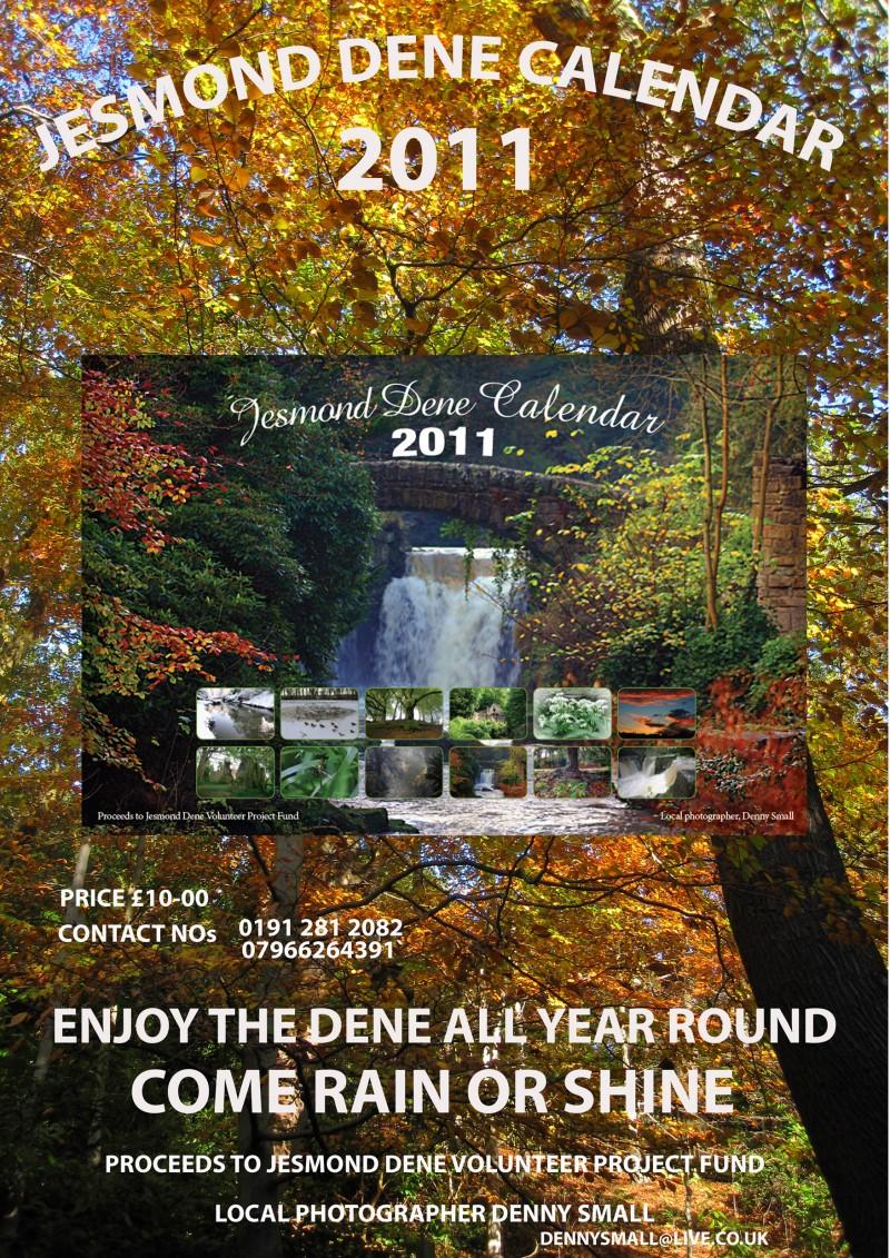 Jesmond Dene Calendar pix by Dennis Small